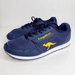 KangaROOS | Boy's Classic Navy Sneakers Sz. 6